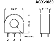 ACX-1050-Dimensions