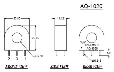 AQ-1020-Dimensions
