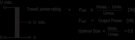 Auto Transformer Equations