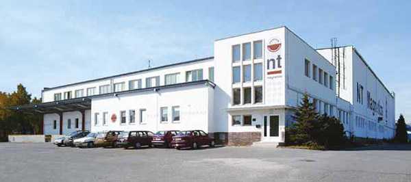 Photograph of NT Magnetics Factory in Pilsen, Czech Republic