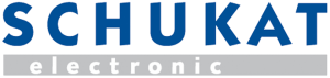 Logo of distributor Schukat Electronics.