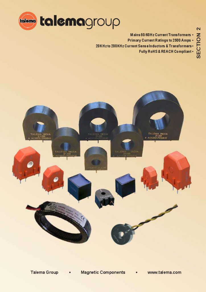 Current Transformer Catalog