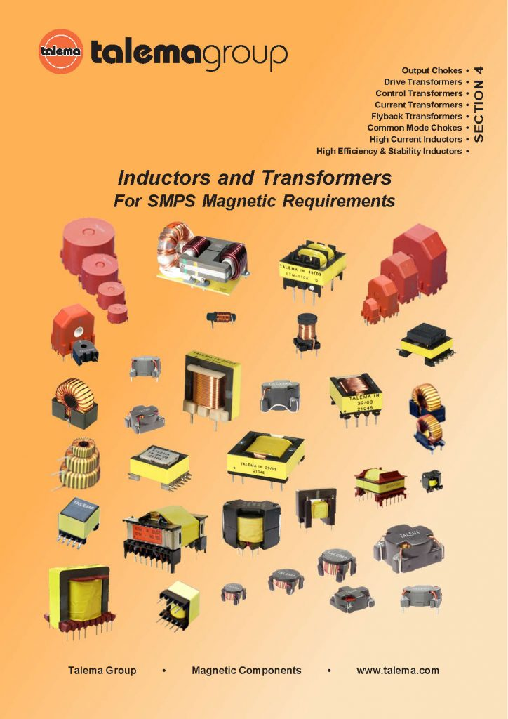 Inductors and Transformers For SMPS Catalog