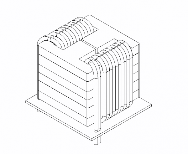 power-converter-wireframe-output-inductor