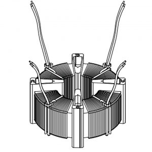 segment core cap transformer illustration