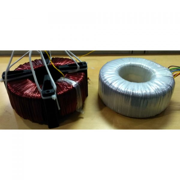 Comparison of Segment Core Cap Transformer with standard toroidal transformer