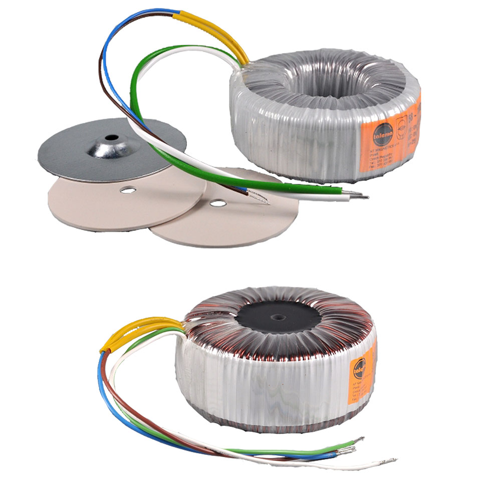 Toroidal transformers Open and Centre-potted 55000
